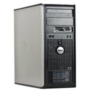 Calculator tower Dell Optiplex 380, E8400, 4GB, 500GB, DVD-RW
