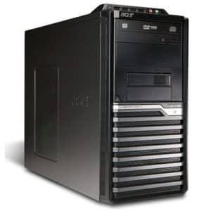 Calculatoare second hand Acer Veriton M480G Tower Core 2 Duo E8400 3.0GHz, 2GB ddr3, 160GB