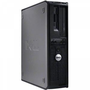 Calculatoare second hand Dell Optiplex 360DT Core2Duo E7500 2.93GHz 2GB 160GB