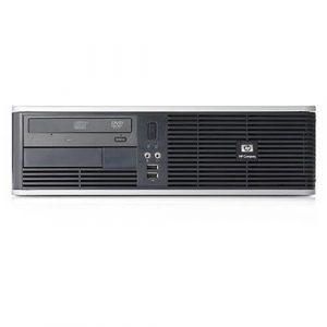 Calculatoare second hand HP Compaq DC5700SFF Core2Duo E6300 1.86GHz 1GB 80GB