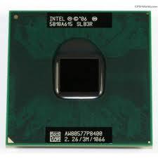 Procesor laptop Intel Core2Duo P8400 2.26GHz