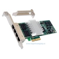 Placă de rețea Intel D61407 quad port