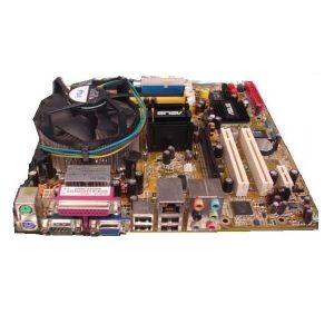 Kit placă de bază Socket 775 + procesor Core2Duo E6420 2.13GHz