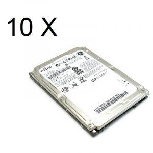 Pachet 10 Hard Disk-uri laptop Sata 60GB
